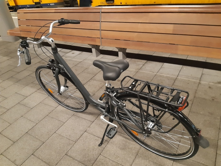 Bike In Dutch Public Transport