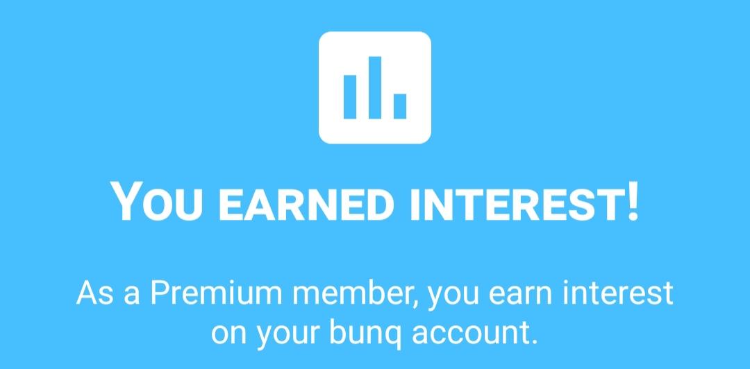 Bunq interest