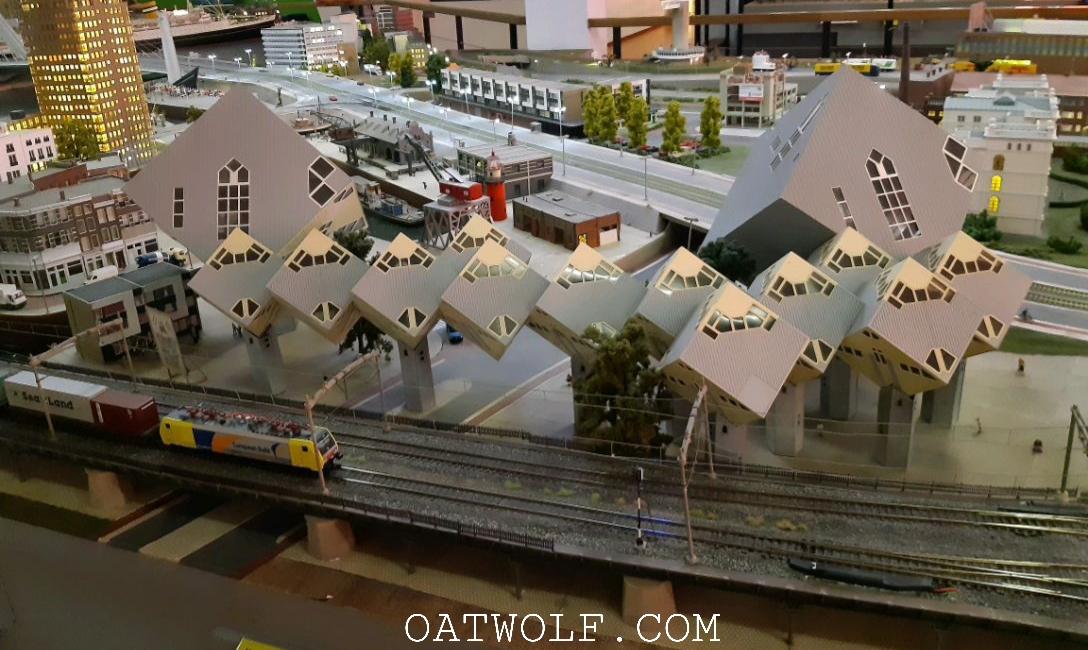 Miniworld Rotterdam Cubic Houses