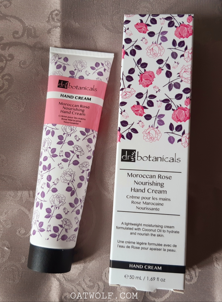 Dr Botanicals Morrocan Rose Nourishing Hand Cream