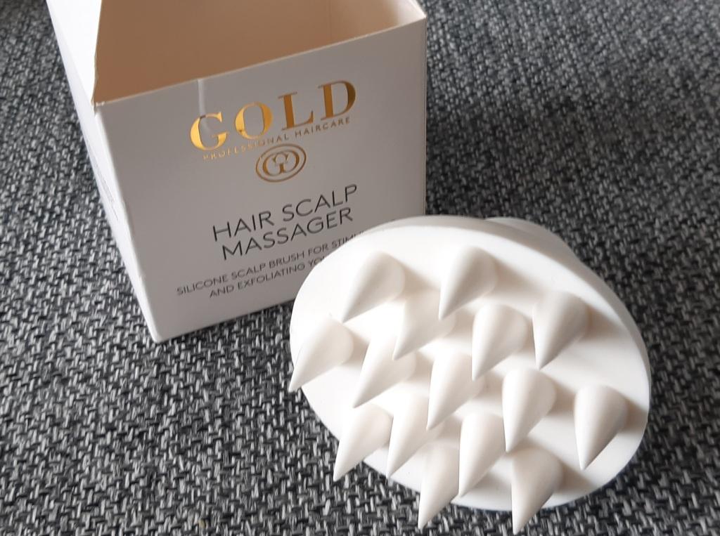 GOLD PROFESSIONAL Hair scalp massager