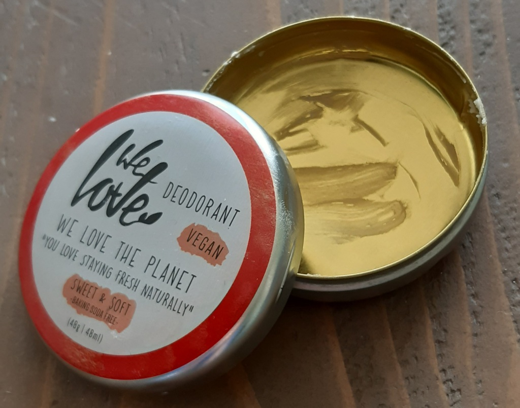 We Love The Planet Sweet & Soft Deodorant