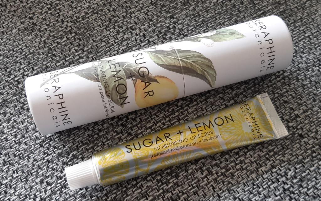 Serphine Botanicals /Sugar + Lemon Moisturizing Lip Buffer